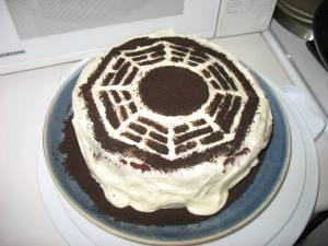 LOST Party - Dharma Cake