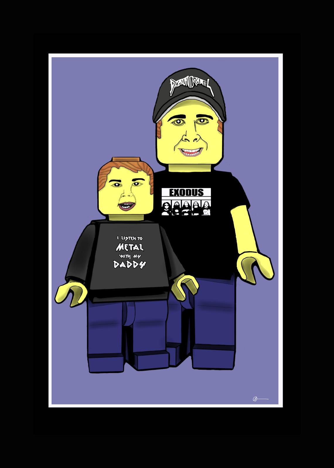 LEGO Dan and Brendan (Commission) by Gerry Albert - More From the Artist: http://gerryalbert.deviantart.com/gallery/